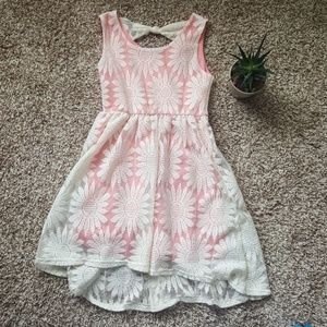 Girls high low dress